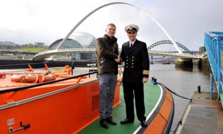DIPLOMATIC VISITOR TO PORT OF TYNE