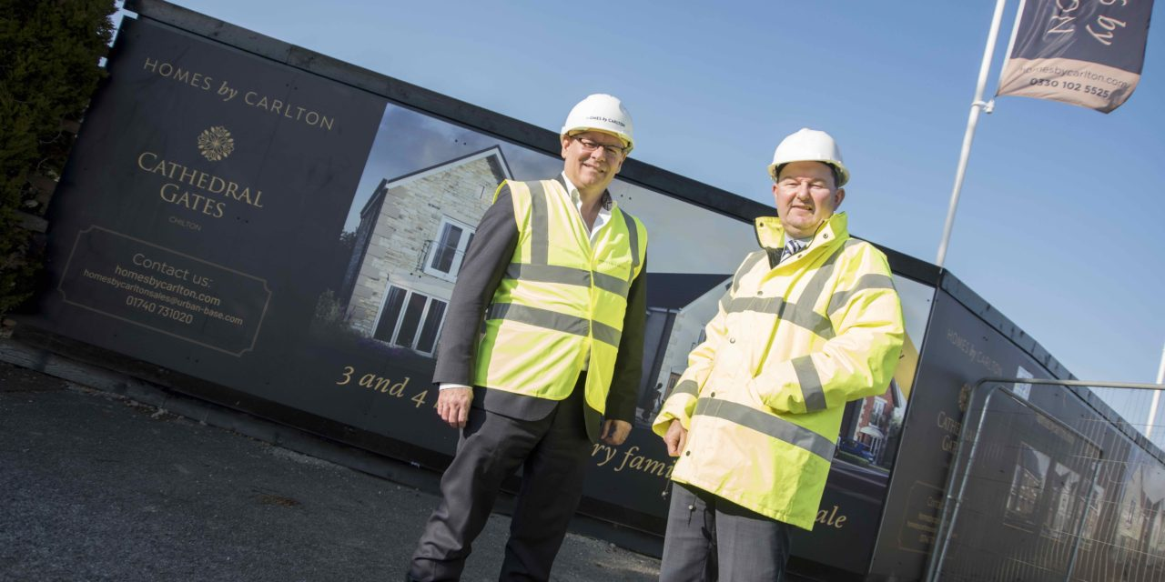 FAMILY HOMES BUILT WITH £1M FW CAPITAL NORTH EAST PROPERTY FUND INVESTMENT