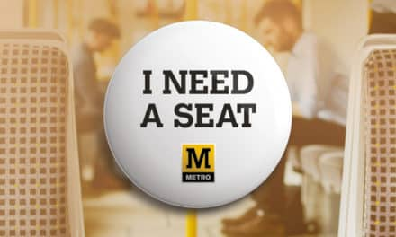 Tyne and Wear Metro's I Need a Seat initiative