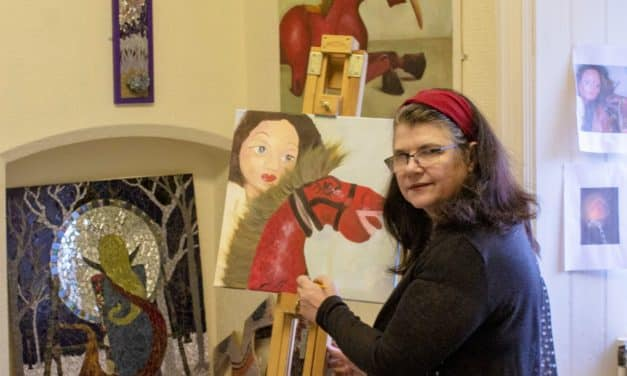 """""""This is bliss"""" – The Durham artist who gave up everything"""