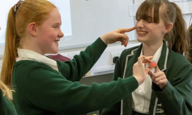Students experiment with a future in science