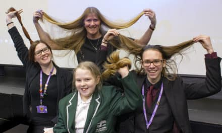 Haircuts for Darlington pupils help young cancer patients