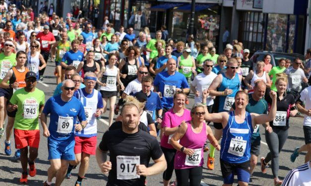 Simon Bailes continues its support of the Northallerton 10k and the Pendragon Community Trust
