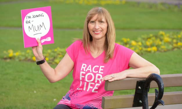 MUM'S THE WORD AS CANCER SURVIVOR LORRAINE SUPPORTS RACE FOR LIFE