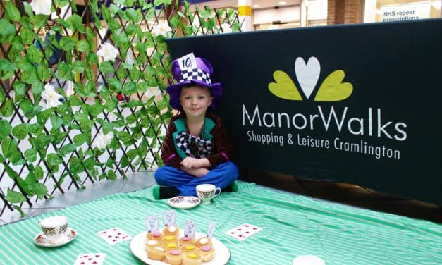 Manor Walks hosts special Alice in Wonderland themed tea party this Easter