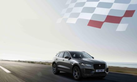 JAGUAR F-PACE: 300 SPORT AND CHEQUERED FLAG SPECIAL EDITIONS JOIN UPDATED RANGE