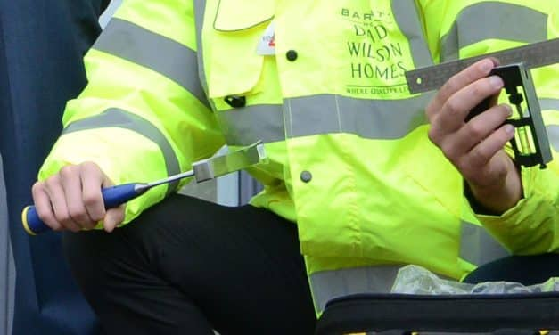 Barratt Homes North East celebrates the work of its apprentices