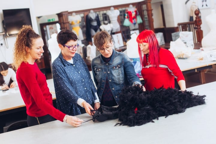Fashion team create knock-out outfit to help model achieve her dream