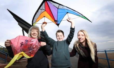 Kite festival flying high thanks to Lynemouth Power Station