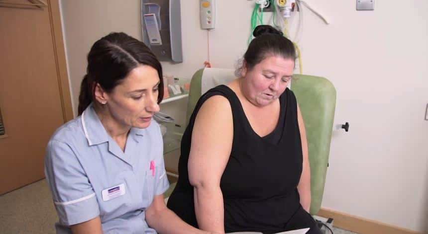 Swelling caused by pregnancy found to be lymphoedema for Gateshead woman