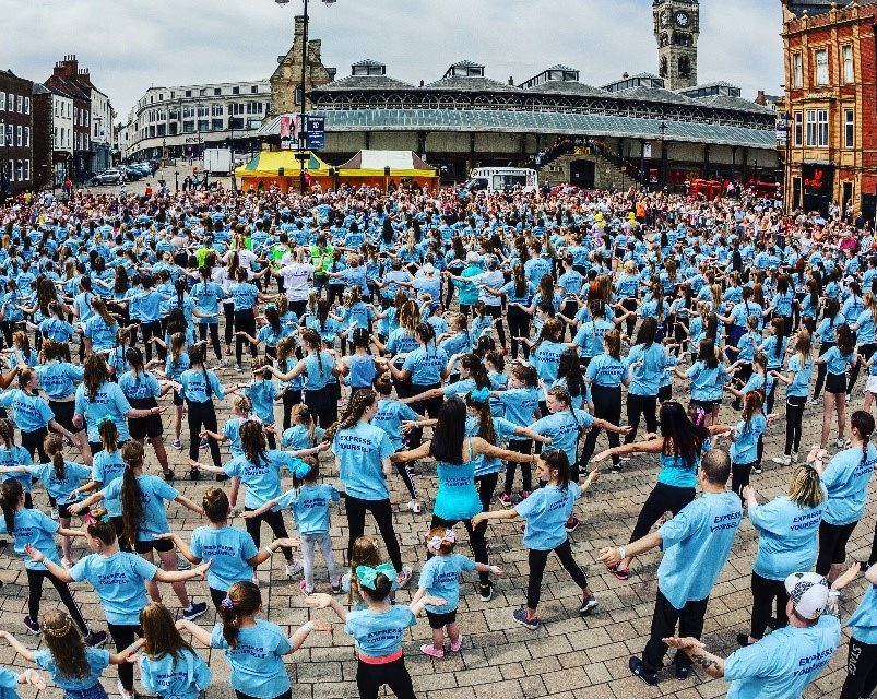 Darlington Dance Festival Mass Dance 2019 – 'This is me' challenging inequality