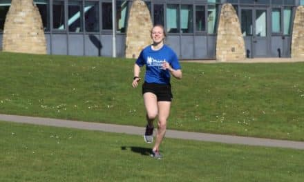 Mia sets her mind on running 10k a day for mental health