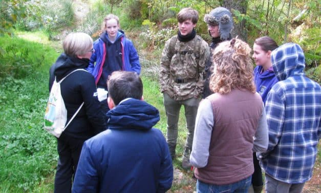 National Park's Young Naturalists Graduate