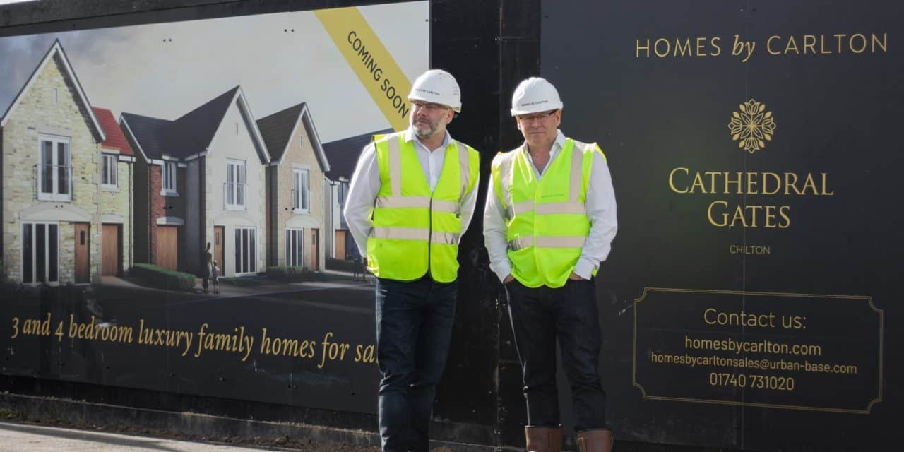 North East housbuilder back in the market with pioneering development