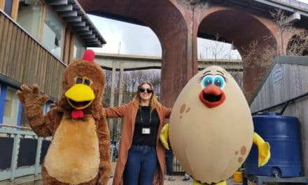 Ouseburn Farm launches Easter activity programme with sponsored Chicken Run