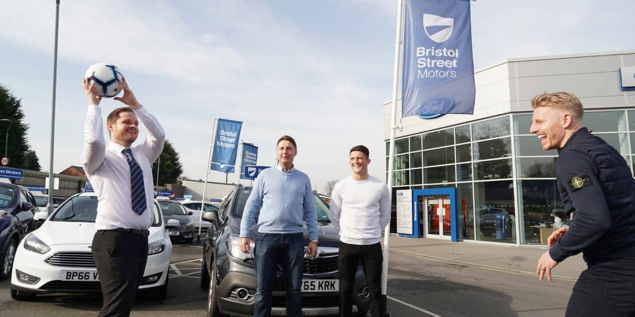 Bristol Street Motors Durham Ford signs support deal with Spennymoor Town FC