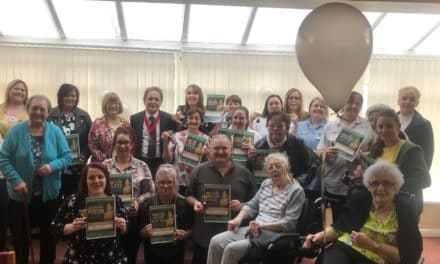 Trophy for Best Tea Maker and other awards at Teesside care home