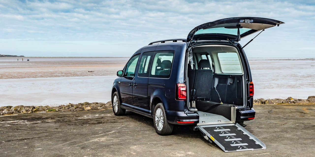 NEW VOLKSWAGEN CADDY WHEELCHAIR CONVERSION GETS READY FOR CV SHOW 2019