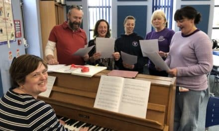 School staff sing praises of training day with a difference