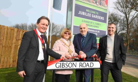 Local housebuilder honours former councillors with new street names