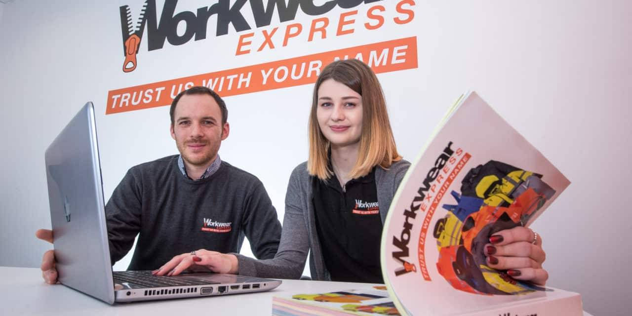 North East workwear business celebrates National Apprenticeship Week with a promotion and a call for personal approaches to digital apprenticeships