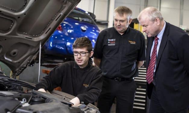Car repair firm's apprenticeship scheme hits the road