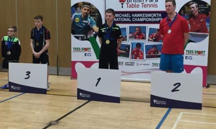 National Title for Para Table Tennis Player