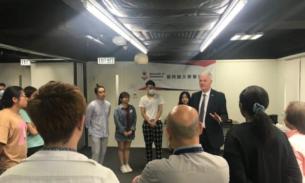 Sunderland's Vice Chancellor in Hong Kong to embrace 'global student community'