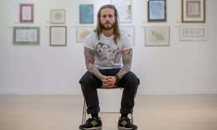 North East ink that's proving a career breakthrough for art student
