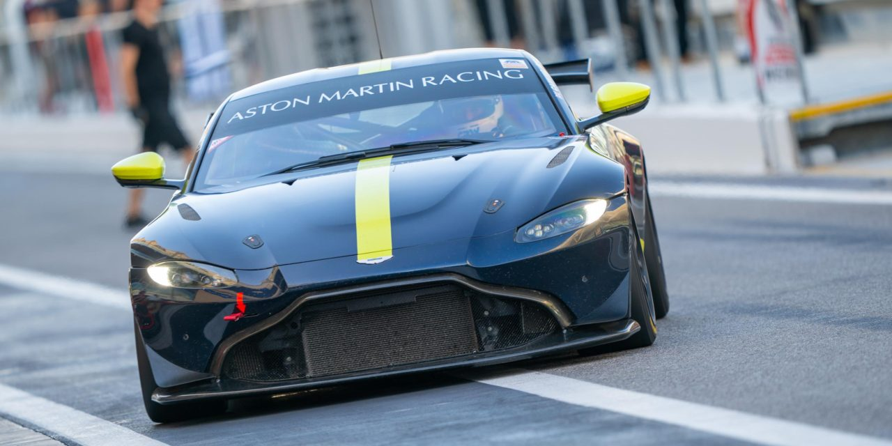 ASTON MARTIN ANNOUNCES ALL-STAR N24 LINE-UP AND SIGNS CHADWICK