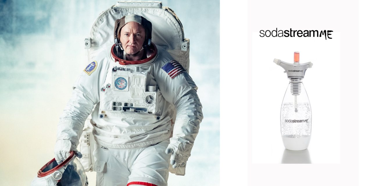 SodaStream Launches April Fools' Day Prank Product with Astronaut Scott Kelly