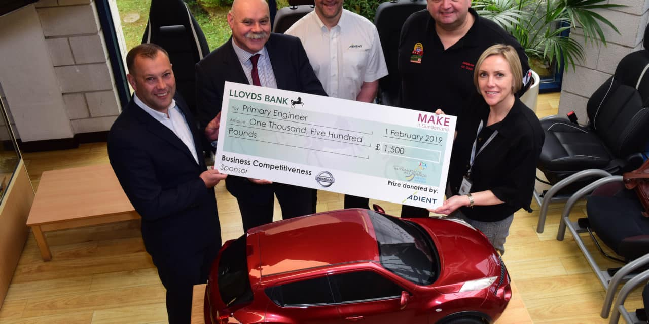 Primary Engineer School Engagement Programme Boosted by Adient Awards Donation