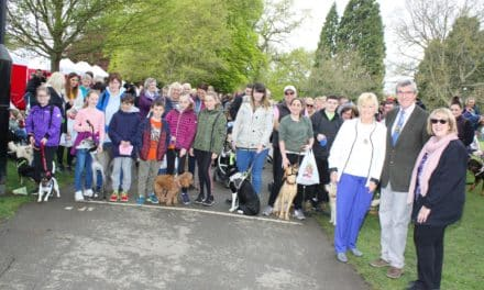 Raising money for hospice is a walk in the park