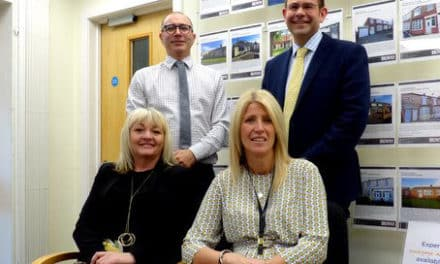 Outstanding performance brings national award to Brown's estate agents