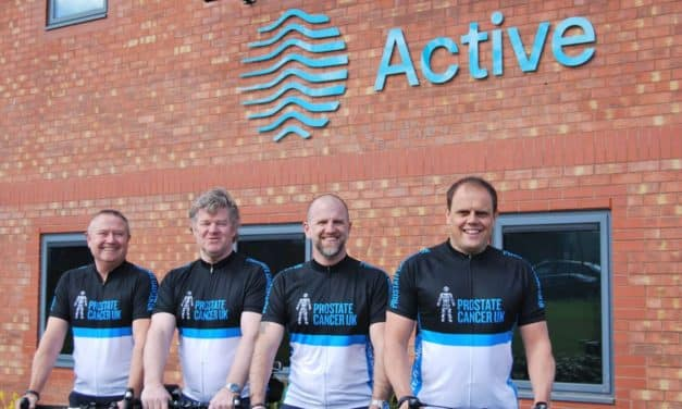 Teesside financial planners take on cycling challenge for prostate cancer charity