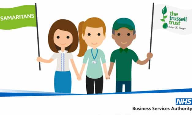NHS Business Services Authority partners with two charities