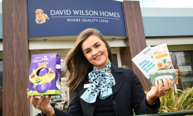 A blooming Happy Easter! Housebuilder encourages community to support local wildlife this spring