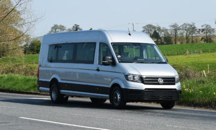 ALL ABOARD! VOLKSWAGEN COMMERCIAL VEHICLES UNVEILS NEW CRAFTER MINIBUS