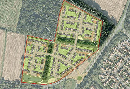 Top 10 UK homebuilder accelerates the delivery of new homes in County Durham