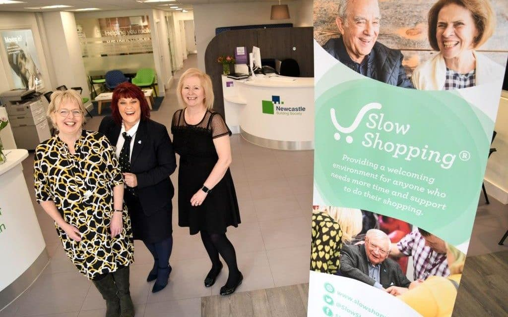 Newcastle Building Society supports Gosforth 'Slow Shopping' scheme