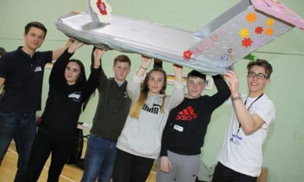 Hovercraft challenge gives students a lift