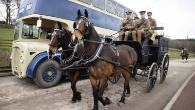 Horses at Work at Beamish, The Living Museum of the North, 27th and 28th April 2019
