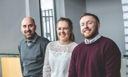New starters at fast growing financial firm