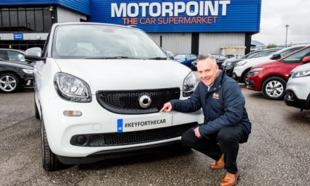 MOTORPOINT CELEBRATES 21ST BIRTHDAY BY GIVING AWAY A CAR