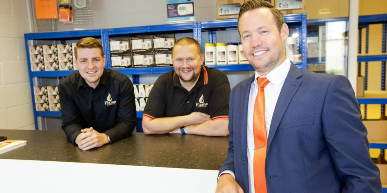 Cramlington expansion for Flame with second bathroom showroom launch