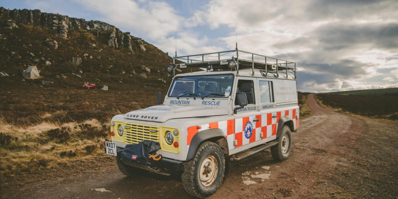 Mountain Rescue teams work together in challenging joint training exercise in Northumberland
