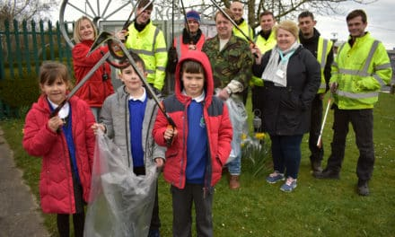 Great British Spring clean for Lingdale