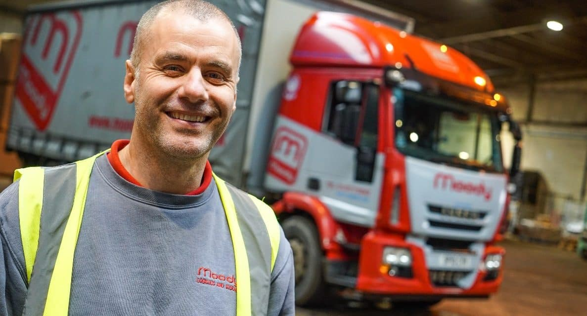 Moody's 'double driver of the year' shortlisted for prestigious industry award