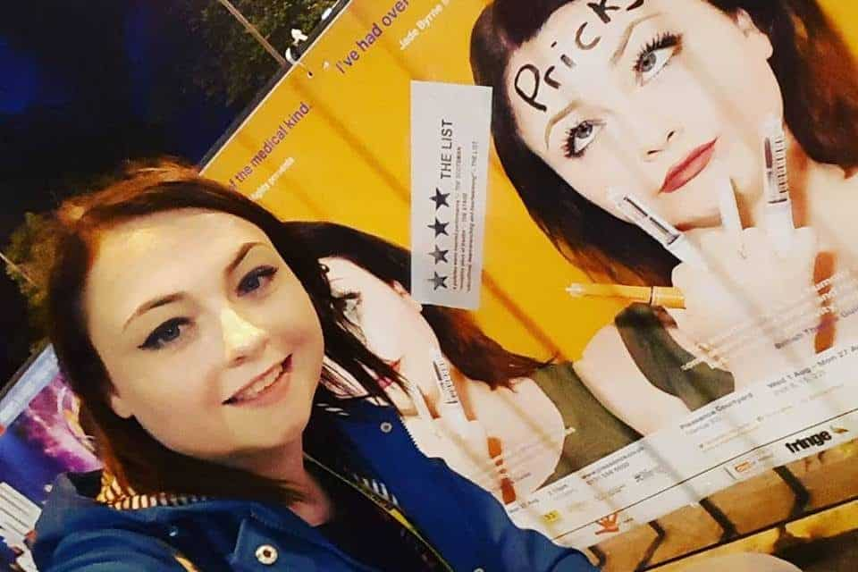 Darlington actress aiming to sell-out local shows on Pricks UK Tour