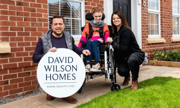 David Wilson Homes helps local family with life-changing home renovation